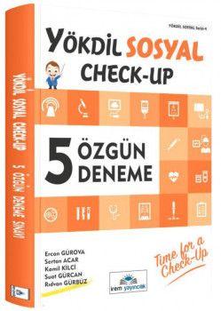 İrem Yayınları YÖKDİL Sosyal Check Up 5 Özgün Deneme