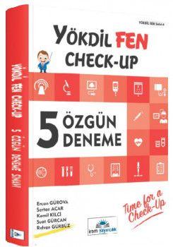 İrem Yayınları YÖKDİL Fen Check Up 5 Özgün Deneme