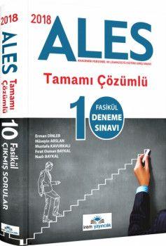 İrem Yayınları 2018 ALES Tamamı Çözümlü 10 Fasikül Deneme Sınavı