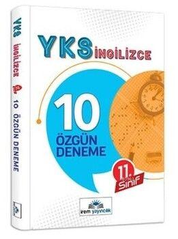 İrem Yayınları 11. Sınıf YKS İngilizce 10 Özgün Deneme