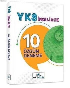 İrem Yayınları 12. Sınıf YKS İngilizce 10 Özgün Deneme