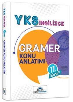İrem Yayınları 11. Sınıf YKS İngilizce Gramer Konu Anlatımı
