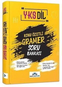 İrem Yayınları YKS Dil Konu Özetli Gramer Soru Bankası