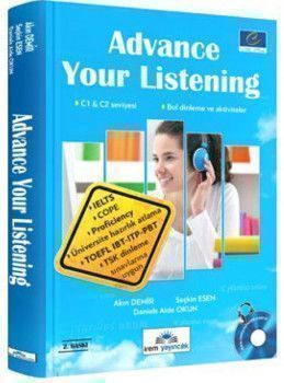 İrem Yayınları İrem Yayınları Advance Your Listening C1 ve C2 Seviyesi 2. Baskı