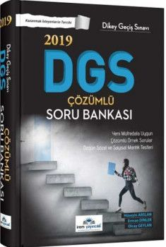 İrem Yayınları 2019 DGS Çözümlü Soru Bankası