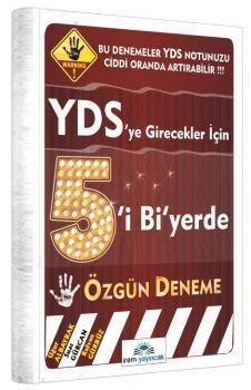 İrem Yayınları YDS Beşi Bi Yerde Özgün Deneme