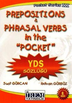 İrem Yayınları Prepositions & Phrasal verbs in the Pocket YDS Sözlüğü