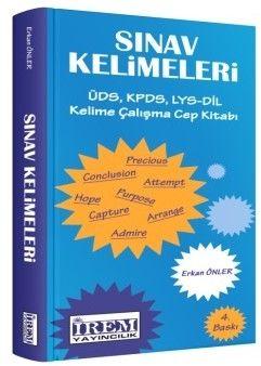 İrem Yayınları Sınav Kelimeleri ÜDS - KPDS - LYS Kelime Çalışma Cep Kitabı