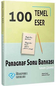 İrrasyonel Yayınları 100 Temel Eser Paragraf Tamamı Çözümlü Soru Bankası