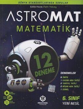 İrrasyonel Yayınları 6. Sınıf  Astromat Matematik 12 li Yeni Nesil Deneme