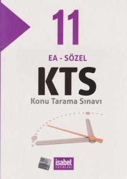 İsabet Yayınları 11. Sınıf EA Sözel KTS Konu Tarama Sınavı