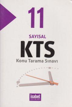 İsabet Yayınları 11. Sınıf Sayısal KTS Konu Tarama Sınavı