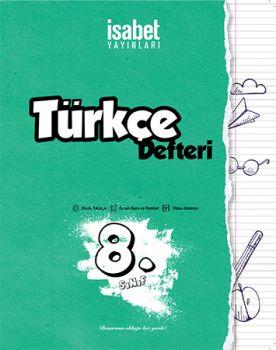 İsabet Yayınları 8. Sınıf Türkçe Defteri