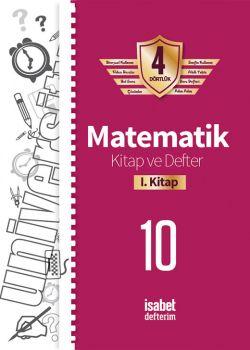 İsabet Yayınları 10. Sınıf Matematik Kitap ve Defter 1. Kitap 4 Dörtlük