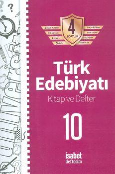 İsabet Yayınları 10. Sınıf Türk Edebiyatı Kitap ve Defter 4 Dörtlük
