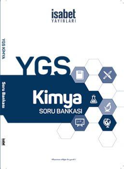 İsabet Yayınları YGS Kimya Soru Bankası
