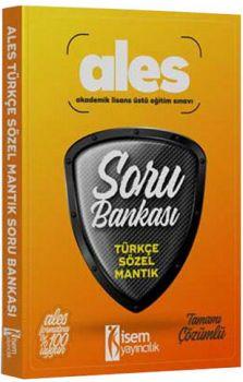 İsem 2017 ALES Türkçe Sözel Mantık Tamamı Çözümlü Soru Bankası