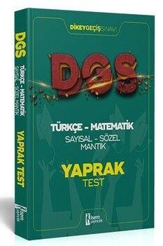 İsem 2021 DGS Türkçe  Matematik Sayısal Sözel Mantık Çek Kopar Yaprak Test
