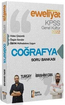 İsem 2022 KPSS Coğrafya Evveliyat Soru Bankası