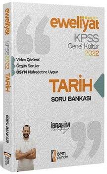 İsem 2022 KPSS Tarih Evveliyat Soru Bankası