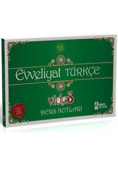 İsem Evveliyat Türkçe Video Ders Notları