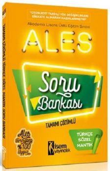 İsem Yayıncılık ALES Türkçe Sözel Mantık Tamamı Çözümlü Soru Bankası