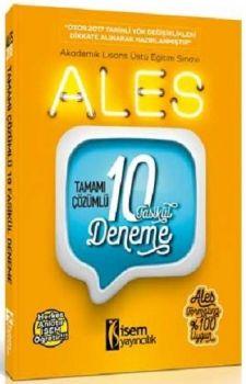 İsem Yayıncılık ALES Tamamı Çözümlü 10 Fasikül Deneme