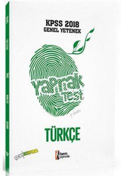 İsem Yayıncılık 2018 KPSS Genel Yetenek Türkçe Çek Kopart Yaprak Test