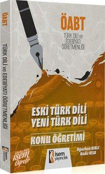 İsem Yayınları ÖABT Türk Dili ve Edebiyatı Öğretmenliği Konu Anlatımı