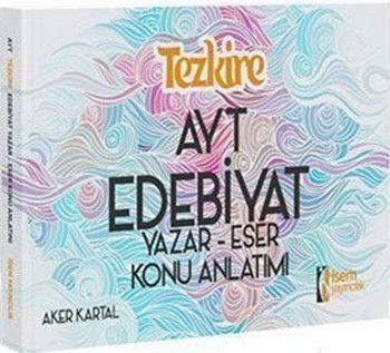 İsem Yayınları AYT Edebiyat Tezkire Yazar Eser Konu Anlatımı