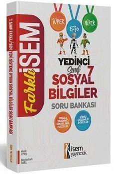İsem Yayınları 7. Sınıf Sosyal Bilgiler Soru Bankası