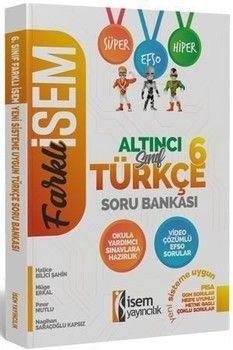 İsem Yayınları 6. Sınıf Türkçe Soru Bankası