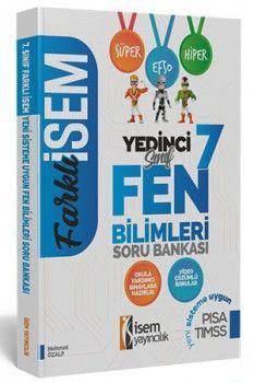 İsem Yayınları 7. Sınıf Fen Bilimleri Soru Bankası