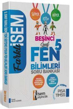 İsem Yayınları 5. Sınıf Fen Bilimleri Soru Bankası