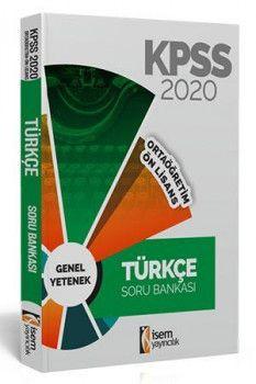 İsem Yayınları 2020 KPSS Ortaöğretim Ön Lisans Türkçe Soru Bankası