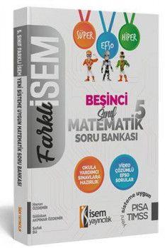 İsem Yayınları 5. Sınıf Matematik Soru Bankası