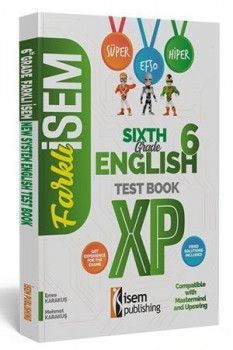 İsem Yayınları 6. Sınıf İngilizce Soru Bankası