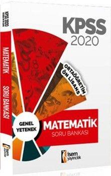 İsem Yayınları 2020 KPSS Ortaöğretim Ön Lisans Matematik Soru Bankası