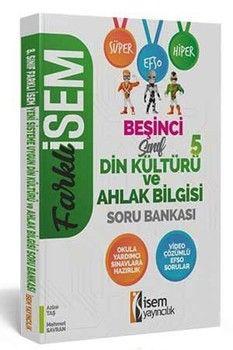 İsem Yayınları 5. Sınıf Din Kültürü ve Ahlak Bilgisi Farklı İsem Soru Bankası