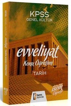 İsem Yayınları 2020 KPSS Evveliyat Tarih Konu Öğretimi