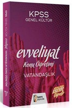 İsem Yayınları 2020 KPSS Evveliyat Vatandaşlık KonuÖğretimi