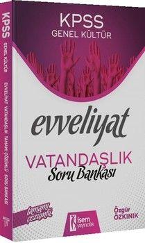 İsem Yayınları 2020 KPSS Evveliyat Vatandaşlık Tamamı Çözümlü Soru Bankası