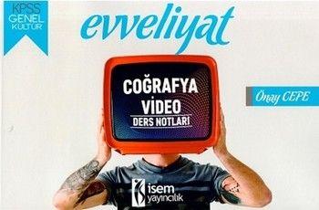 İsem Yayınları 2020 KPSS Evveliyat Genel Kültür Coğrafya Video Ders Notları