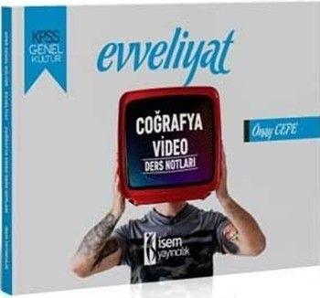 İsem Yayınları 2020 KPSS Evveliyat Genel Kültür Tarih Video Ders Notları