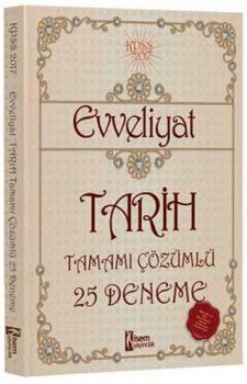 İsem Yayınları 2017 KPSS Evveliyat Tarih Tamamı Çözümlü 25 Deneme