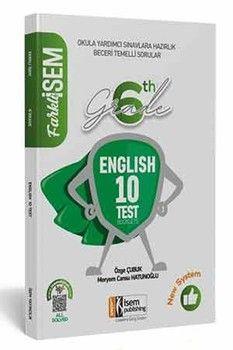 İsem Yayınları 6. Sınıf İngilizce Farklı İsem Tamamı Çözümlü 10 Fasikül Deneme