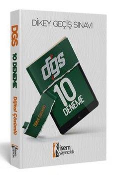 İsem Yayınları DGS Dijital Çözümlü 10 Deneme Sınavı