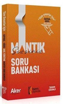 İsem Yayınları Mantıksizsiniz Sayısal ve Sözel  Mantık Tamamı  Çözümlü Soru Bankası
