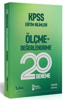 İsem Yayınları KPSS Eğitim Bilimleri Ölçme ve Değerlendirme 20 li Deneme