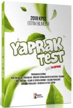 İsem Yayınları 2018 KPSS Eğitim Bilimleri Çek Kopart Yaprak Test